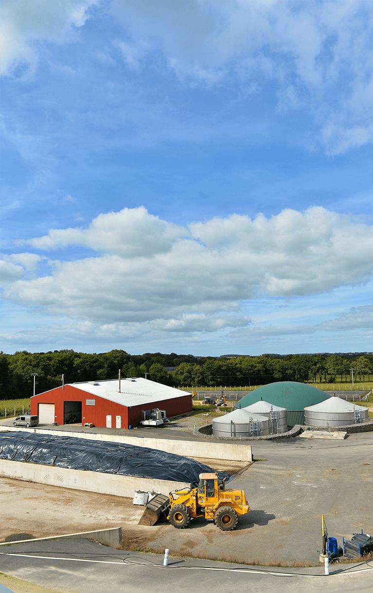 Centrale de méthanisation d'Evergaz