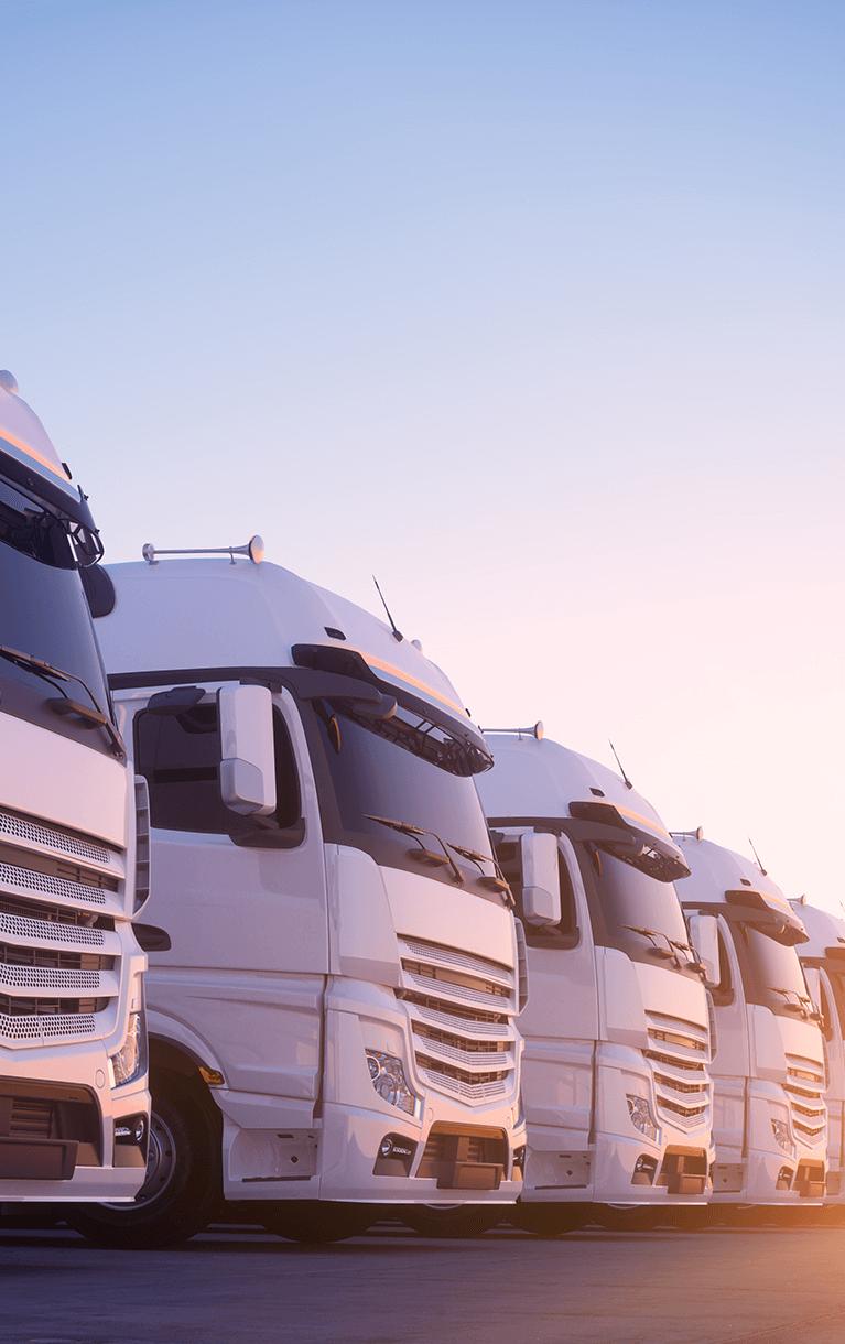 Flotte de camions